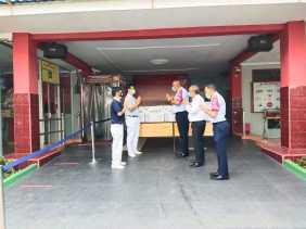 Yayasan Buddha Thu Zhi Berikan Obat Tradisional Cegah Covid 19 ke Rutan Kelas I Medan