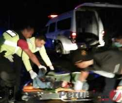 Satlantas Polres Madina Lidik Seorang Pengedara SM Diduga Korban Tabrak Lari