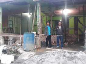 Program Bedah Rumah di Karo, Warga Desa Semangat: Terima Kasih Bob Andhika Mamana Sitepu...