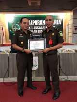 Kembali Kejari  Rohil Raih Prestasi Bidang Pidum Terbaik se-Riau