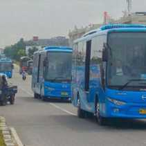 Dishub Pekanbaru Janji Tindak Tegas Bus TMP yang Ugal - ugalan