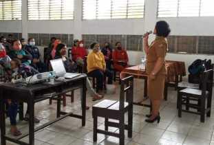 BDR, SMPN 3 Berastagi Sosialisasi Tata Tertib ke Orang Tua Murid di Hari Pertama Masuk Sekolah