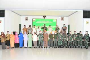 Danrem 023/KS Kolonel Inf Febriel Buyung : Kita Tetap Menjalin Hubungan Dengan KBT