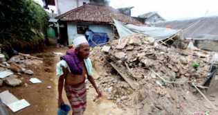BPBD: 4.343 Jiwa Warga Sukabumi Terdampak Gempa 6,4 SR Lebak