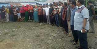 Tim Relawan H.M.Isnandar Nasution Dikukuhkan di Desa Goti