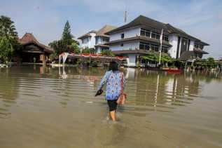 Sungai Bengawan Solo Meluap, Ratusan Rumah di Tiga Kecamatan di Sukoharjo Banjir