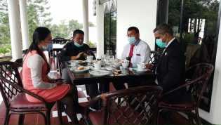 Utamakan Pelayanan, Hotel Sibayak Internasional Perketat Protokol Kesehatan Bagi Pengunjung