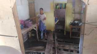 Dapur dan Kamar  Mandi Disapu Ombak di Lampung, Karni: Ombaknya itu Ngantem Terus