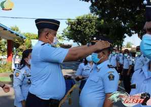 Pegawai Naik Pangkat, Karutan Theo : Harus Jadi Contoh, Jangan Bekerja Menyimpang