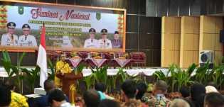 Hadiri Seminar Nasional di Inhil, Gubernur Riau Harapkan Kebangkitan Harga Kelapa