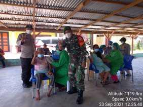 Dandim 0205/TK, Bersama Polri Kita Siap Kawal dan Amankan Vaksinasi Sampai Tuntas