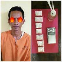 Nata Kabur, Ari Ditangkap Satres Narkoba Polres Rohil