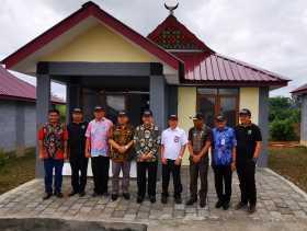 Rumah dokter, Bupati Karo Resmikan 10 Unit RISHA Berbahan Materil Vulkanik Gunung Sinabung