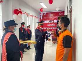 30 Orang Warga Binaan Rutan Kabanjahe Dapat Remisi 17 Agustus 2021, 3 Diantaranya Langsung Bebas