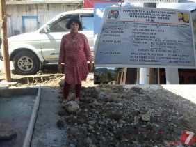 Rumahnya Kena Banjir, Warga Desa Keriahen Protes Terhadap Proyek Peningkatan Jalan Lingkar