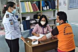 Peduli Kesehatan, Rutan Kabanjahe Gelar Pemeriksaan Kesehatan Rutin Bagi WBP
