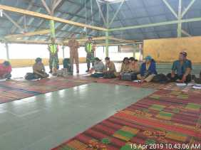 Babinsa Hadiri RAT 2019 Gapoktan di Desa Persadanta