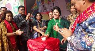 Wakil Bupati Karo Tutup Festival Bunga dan Buah 2019
