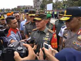 Pangdam I Bukit Barisan Rahasiakan Jumlah Personil dan Titik Kunjungan Jokowi ke Riau
