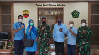 RRI Sibolga Gelar Kunjungan Kerja Ke Koram 023/KS , Danrem Kolonel Inf Febriel B Sikumbang : Semoga