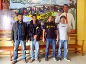 Dilaporkan Istri, KDRT: Sandro Ditangkap Polres Karo Didalam Rumahnya di Desa Semangat