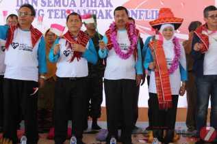 Menteri Sosial Peringati HKS se-Dunia di Karo