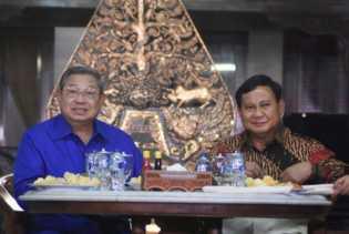 Pilpres 2019: Prabowo Temui SBY Malam Ini