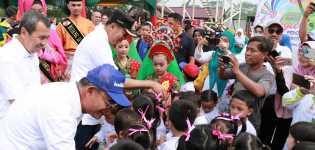 Wali Kota Pekanbaru Hadiri Acara Gebyar Pendidikan dan Kebudayaan bersama Menteri
