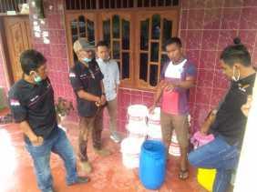 Relawan di Karo Ini Sebut Eco Enzyme Dapat Sebagai Disinfektan dan Mampu Bunuh Virus