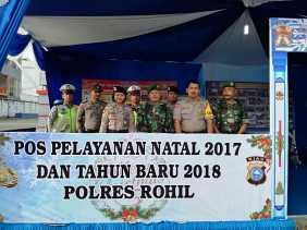 Kompak: Ops Lilin 2017, Begini Sinergi Polres Rohil, TNI dan Instansi Terkait Saat Pam serta Yan