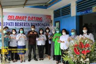 Yayasan Kanker Indonesia (YKI) Cabang Kabupaten Karo Laksanakan Bakti Sosial Pemeriksaan IVA Test