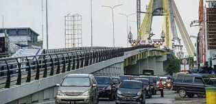Besok, Jembatan Sultan Abdul Jalil di Pekanbaru Diuji Coba dan Buka Dua Jam