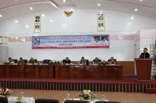 Bupati Karo Buka Forum Konsultasi Publik Rancangan Awal RKPD Tahun 2020