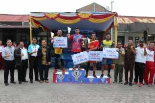 Penutupan Dihadiri Bupati, Inilah Para Juara Turnamen Catur dan Volly Polres Tanah Karo Cup