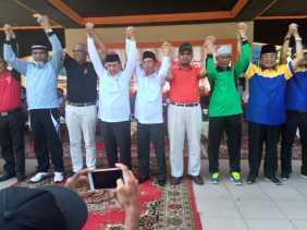 Deklarasi Kampanye Damai di Inhil, Ini Kata Sambutan No.I Paslon H.Rosman M - Musmulyadi