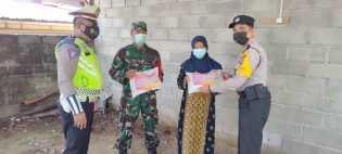 Kodim 0205/TK Dan Polres Tanah Karo Salurkan 1000 Paket Sembako