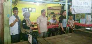 Bawaslu Riau Road Show ke Pasar Pagi Arengka