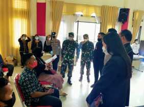 Danrem 023/KS Kolonel Inf Febriel Buyung : Walaupun Sudah Divaksin 5 M Tetap Dipatuhi