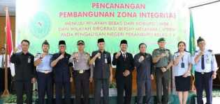 Wakil Wali Kota Pekanbaru Apresiasi Pencanangan Zona Integritas Pengadilan Negeri