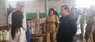 Bupati Karo Sidak ke PT. USD Farm di Partibi Tembe