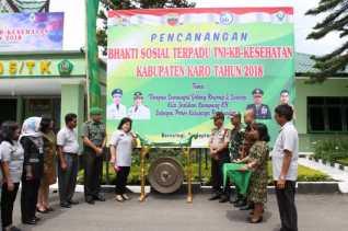 Bhakti Sosial Terpadu TNI - KB Kesehatan Tahun 2018