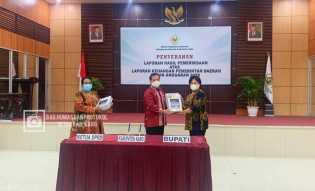 Pemkab Karo Raih Opini WTP Dari BPK RI Perwakilan Sumut
