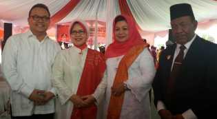 HUT RI  72 Istri Mantan Gubri  ke Lapas Pekanbaru, Rusli Zainal: Semoga Ibu, Emban Tugas Dengan Baik
