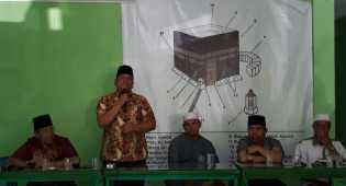 Irsan Nasution dan Arwin Siregar ke NU, Silahturahmi dan Akan 'Bertarung' Pilkada Padangsidimpuan