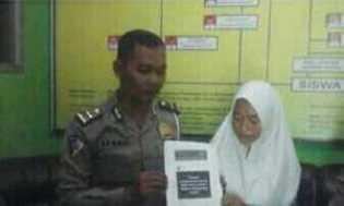 Saat Razia: Seorang Perempuan di Grobogan Minta Maaf Sebut Polisi Lalat Hijau Melalui FB