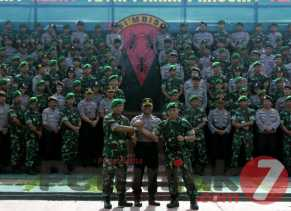 TNI - POLRI Tanah Karo Jalin Silahturahmi, Begini Kegiatannya
