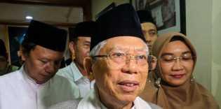 Ma'ruf Amin:  Jokowi dan Prabowo Mencari Waktu yang Tepat untuk Bertemu