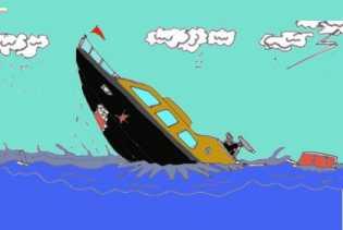 Gelombang dan Angin Kencang Hantam Long Boat di Raja Ampat, Satu Tewas dan Satu Hilang