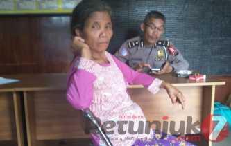 Info Buat Keluarga: Datang dari Sibolga, Sardina Br Telambanua  2 Hari Terlantar di Kabanjahe