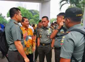 Rakornas Karhutla di Jakarta, Bupati Karo - Dandim 0205 TK: Dihimbau Tidak Membakar Hutan dan Lahan